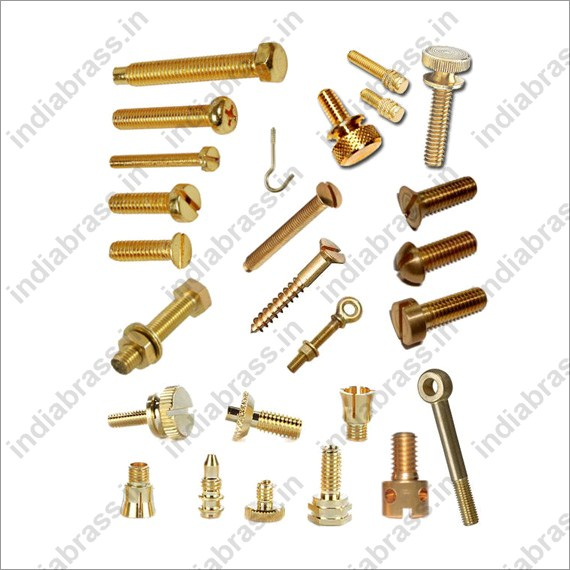 machine screws brass